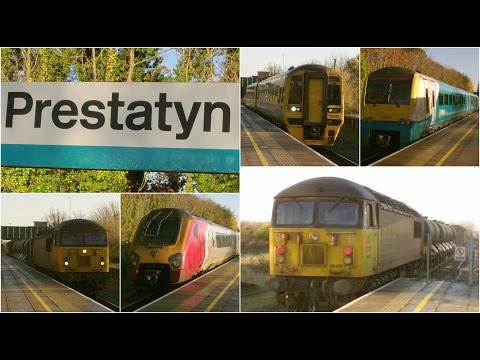 Half an hour at Prestatyn featuring classes 56, 158, 175 & 2…