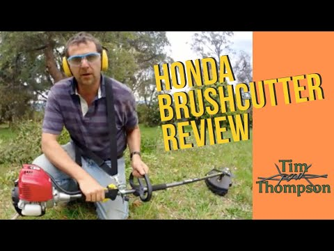 Honda 4 Stroke Brushcutter Review