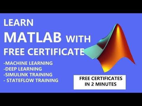 Matlab Free Training Online Courses | Machine Learning Training ...