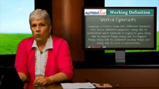 ABA Jargon: Verbal Operants