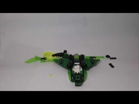 Vidéo LEGO DC Comics 76025 : Green Lantern contre Sinestro