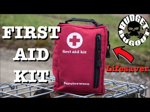 First Aid Kit — 5 Star Rating, Affordable, Quality, & Lifesaving | Surviveware First Aid Kit Review