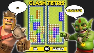 IF CLASH OF CLANS HAD TETRIS GAME MODE