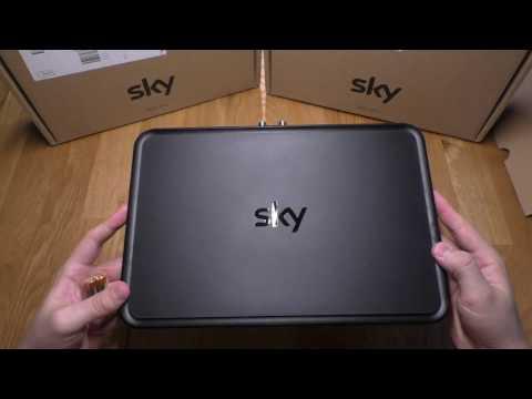 SKY+ (Plus) PRO 4K-Satellitenreceiver für SKY UHD - UNBOXING