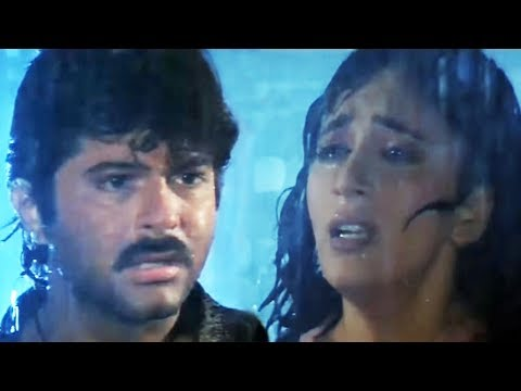 Madhuri Dixit comes to know the truth about Anil Kapoor   Tezaab   Emotional Scene 19/20