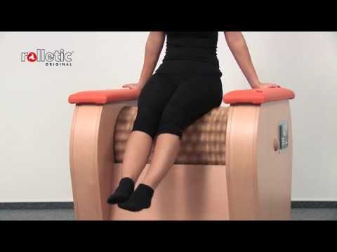 Rolletic Original - recommended massage procedure