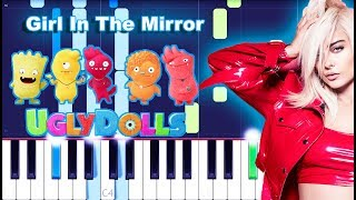 Bebe Rexha – Girl In The Mirror Piano Tutorial (UglyDolls)
