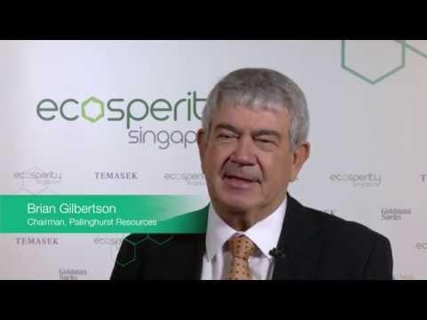 Brian Gilbertson, Chairman of Pallinghurst Resources (Metals & Mining)