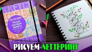 ЛЕТТЕРИНГ ДЛЯ НАЧИНАЮЩИХ | Урок на русском | YulyaBullet