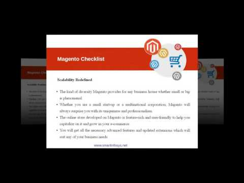 10 Reasons to choose Magento as your E- Commerce Platform