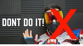 5 THINGS YOU SHOULD NEVER DO IN WOODSBALL | PAINTBALL TIPS