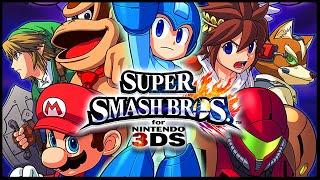 Super Smash Bros 3DS Part 3 Gameplay Walkthrough Livestream W/ Voltsy