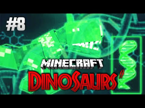 Minecraft PORTAL TO THE DINOSAUR DIMENSION MOD / TRAVEL AND