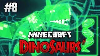 Crazy Minecraft - DISCOVERING THE RAREST DINOSAUR DNA Fossils DNA