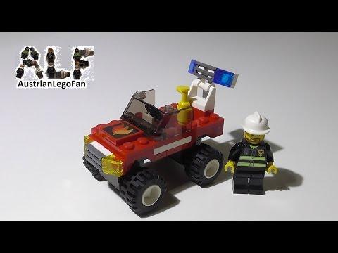 Vidéo LEGO City 7241 : La voiture des pompiers