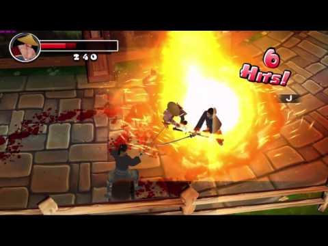 Gameplay de Ninja Avenger Dragon Blade