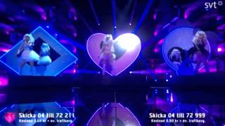 Dolly Style - Hello Hi - Live at the Melodifestivalen 2015 First Semi-Finals