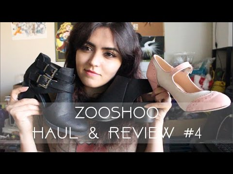 ZooShoo Shoe Haul & Review #4 | Ankle Boots, Lolita Heels