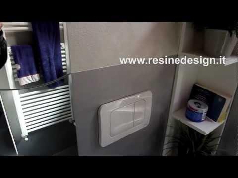 Pavimenti in resina per il bagno come alternativa alle solite