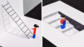 20 IMPRESSIVE 3D DRAWINGS WHEN YOURE BORED