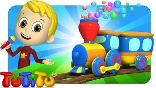 TuTiTu Songs Channel | Train | Sing Along For Kids