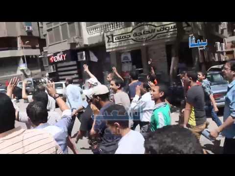 مسيرة رافضة للانقلاب تهز شوارع المهندسين