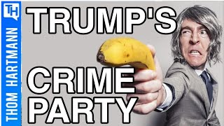 Is The Tough On Crime Party Full Of Criminals? (w/Rep Ro Khanna)
