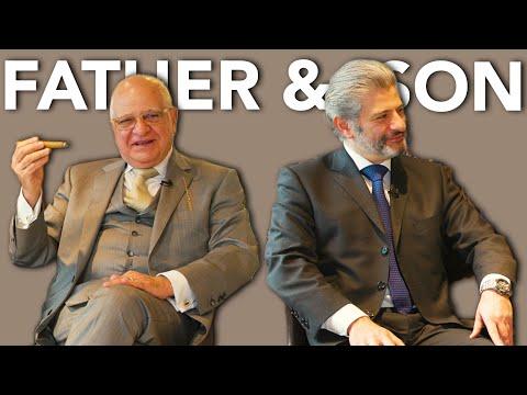 Father & Son of Davidoff London Talk Cigars 👨👦     Kirby Allison