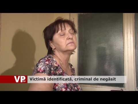 Victimă identificată, criminal de negăsit