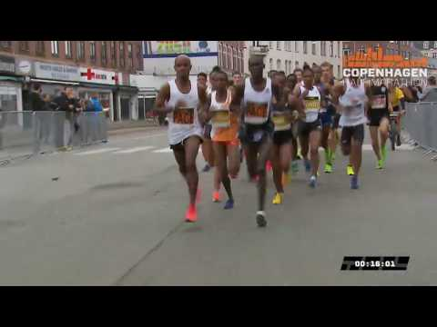 WORLD RECORD!!! Copenhagen Half Marathon 2019 - Full race