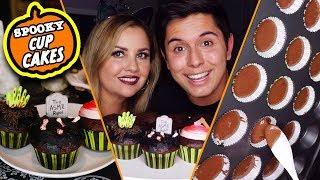 ASMR W/ My Mom! | Baking Spooky Halloween Cupcakes!