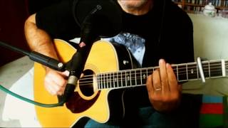 Here There and Everywhere ~ The Beatles - Macca ~ Acoustic Cover w/ Fender PM-3 Deluxe 000 NT