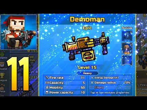 Pixel Gun 3D - Gameplay Walkthrough Part 11 - Demoman