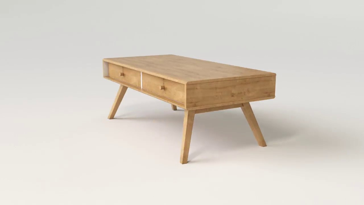 Nature Wooden Coffee Table
