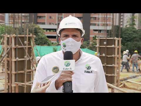 Avanza construcción del Campus Universitario Aburrá Sur TdeA