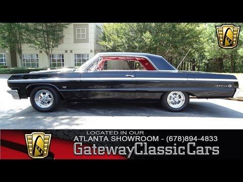 Video of Classic 1964 Chevrolet Impala located in Alpharetta Georgia - $31,595.00 Offered by Gateway Classic Cars - Atlanta - KF0Z