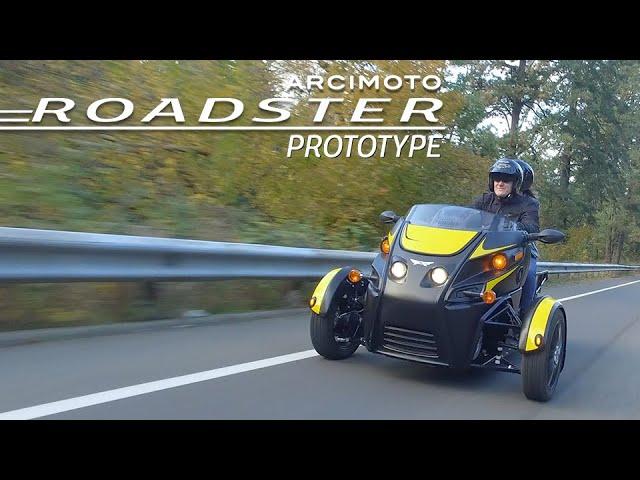 Компания Arcimoto готовит к запуску юркий городской электротрайк Roadster