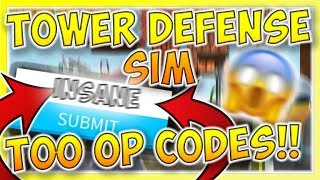 codes for roblox tower defense simulator beta - TH-Clip