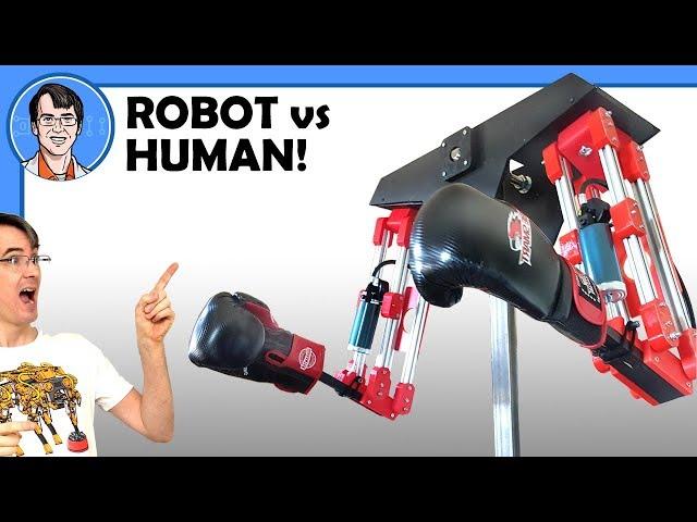 Этот робот ударит вас в реальности, если вы промахнетесь в виртуальной игре