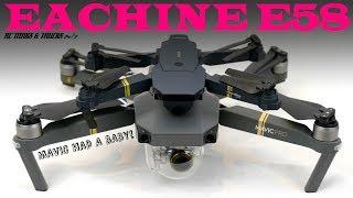 EACHINE E58 WIFI FPV Attitude Hold Drone - REVIEW | Baby DJI Mavic Clone |