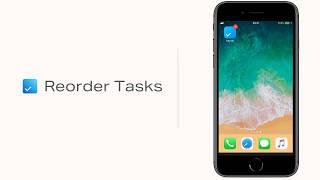 Reorder Tasks