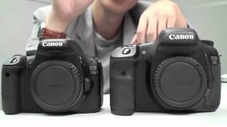 Canon EOS 550D vs. 7D - Head to Head Comparison