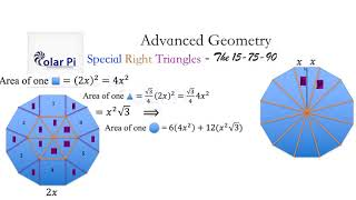[Special Right Triangles] - (The 15-75-90 Degree) Triangle Derivation