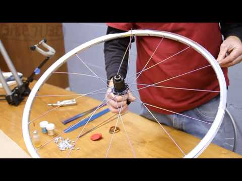 How to Lace a rear wheel 32