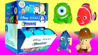 35 MASHEMS CRYSTAL Disney Pixar SERIES 2 FULL CASE Complete Collection Fashems Nemo Dory by Funtoys