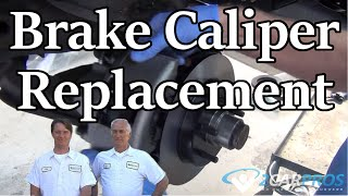 BRAKE CALIPER REPLACE CHEVY SUBURBAN 1992-199
