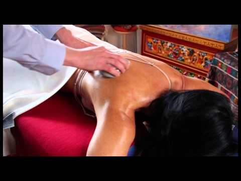 In einer Prostata-Massage in Kontakt
