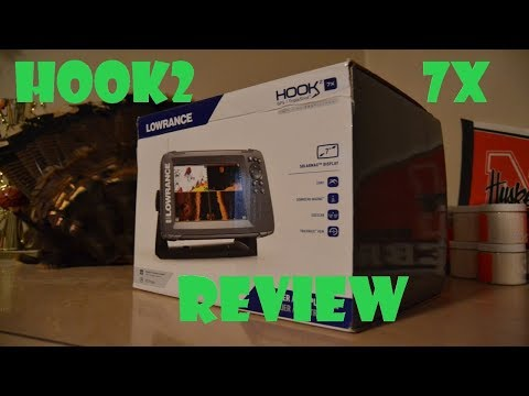 HOOK2 7x Fishfinder unboxing and review