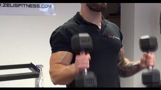 Zeus Bicep Burner - 10 Minute Pump by TheZeusFitness