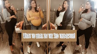 39 Weeks Prego Outfits || 3rd Trimester Clothing Must Haves!